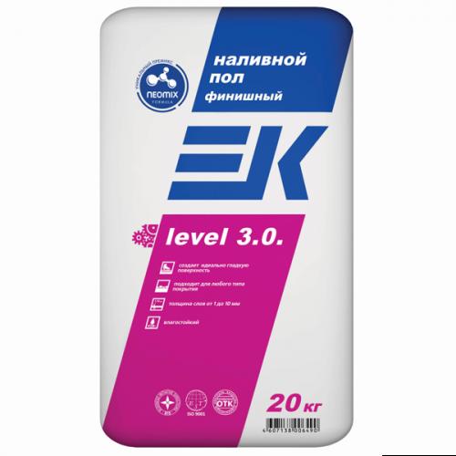 Финишный наливной пол EK level 3.0. ЕК Кемикал